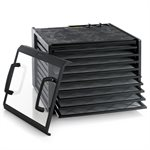 Excalibur Food Dehydrator 3926TCDB Black with Clear Door