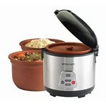 VitaClay VF7700-8 Chef Gourmet 8-Cup Rice and Slow Cooker