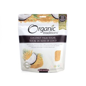 Organic Traditions Certified Organic Coconut Palm Sugar 454gr