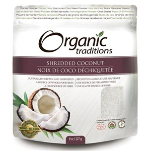 Organic Traditions Certified Organic Shredded Coconut 227gr