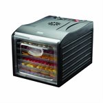 Aroma Professional 6 Tray BPA Free Food Dehydrator with Clear Door