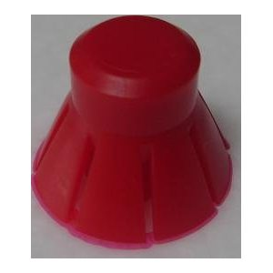Replacement Red Syphon Caps Pack of 3 for bioSnacky and Biosta Sprouters