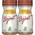 Bjast Natural Yeast Flakes 2 x 100g