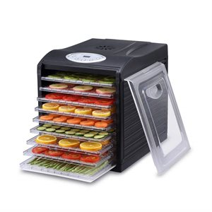 Samson Silent Digital 9 Tray Dehydrator with Plastic Trays