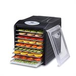 Samson Silent Digital 9 Tray Dehydrator with Stainless Steel Trays