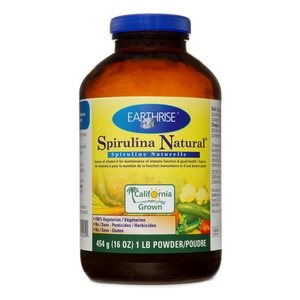 Earthrise Spirulina Natural Powder 454gr