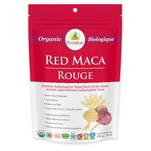 Ecoideas Ethnoscience Organic Red Maca 454g