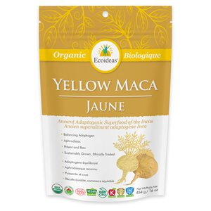 Ecoideas Organic Yellow Maca 454g