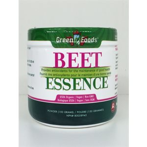 Green Foods Essence de betterave biologique 150g