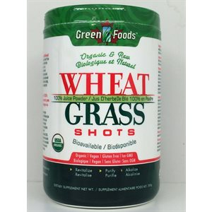 Green Foods Organic Wheat Grass Shots 300g