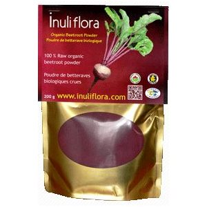 Inuli flora Organic Raw Beetroot Powder 200gr