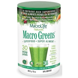 MacroLife Macro Greens Superfood 283.5 gr