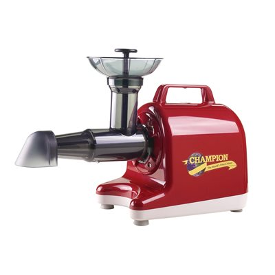 Champion 4000 Household Juicer Red