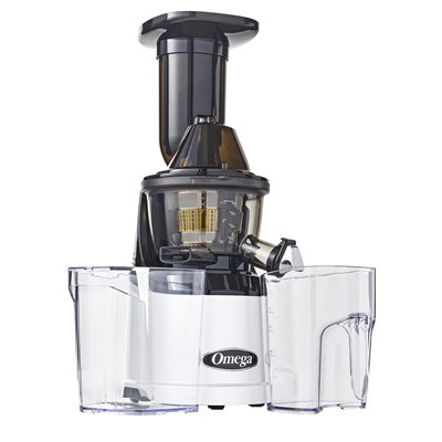 Omega Mega Mouth vertical Juicer MMv700S Raw Nutrition Canada