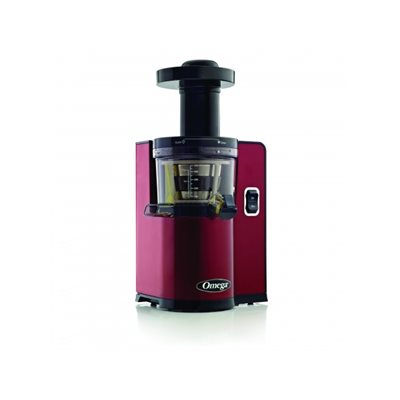 Omega Vsj843rr Slow Juicer In Red : Omega vERT Juicer vSJ843QR Red vSJ843 Raw Nutrition Canada