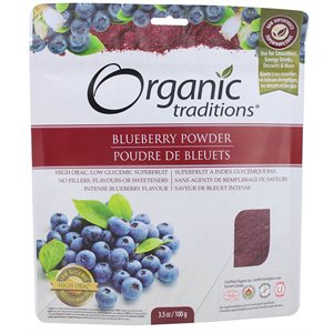 Organic Traditions Blueberry Powder 100gr