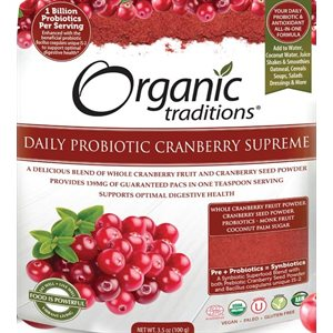 Organic Traditions Daily Probiotic Cranberry Supreme 100gr