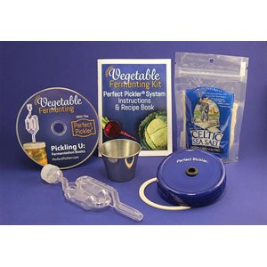 Perfect Pickler Ensemble de marinage pour pot Mason