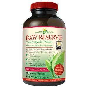 Amazing Grass Raw Reserve Aliments verts & probiotiques petits fruits 240gr
