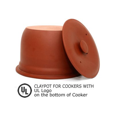 Vita Clay Replacement ClayPot Set for Rice N' Slow Cooker Model VM-7900-8