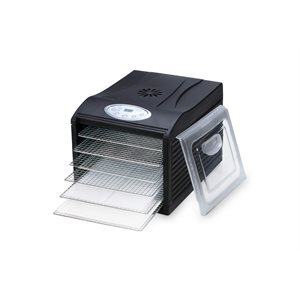 Samson Silent Digital 6 Tray Dehydrator with Stainless Steel Trays