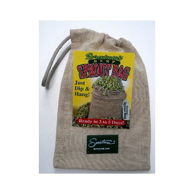 Sproutman's 100% Natural Hemp Sprout Bag