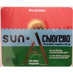 Sun Chlorella 300 Tablets 200 mg