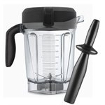 Vitamix Low Profile 64 oz 2 Litre Container with Tamper