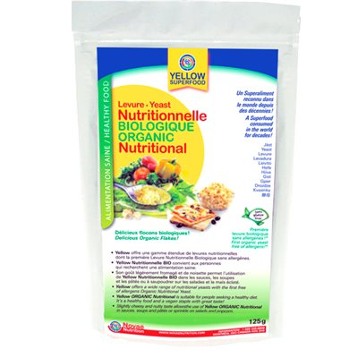 Yellow Superfood Organic Nutritional Yeast 125g